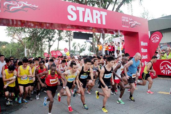 Jurong Lake Run 2013: Running as One