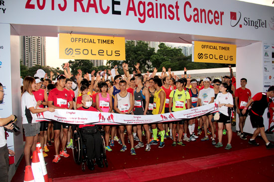 SingTel & Singapore Cancer Society Race Against Cancer 2013: Many Ran In Rememberance Of A Cancer Patient