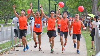 Big Splash Mizuno Wave Run 2013