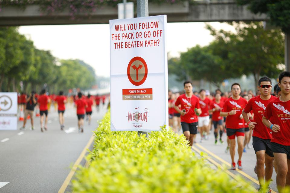 Nike We Run 2013 Lets You Choose Your Path & Run Your Race