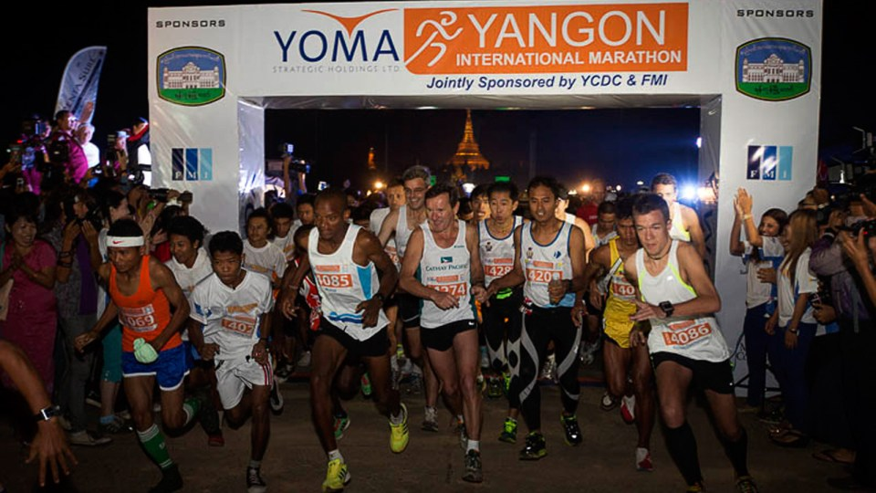 Yoma Yangon International Marathon Returns in 2014