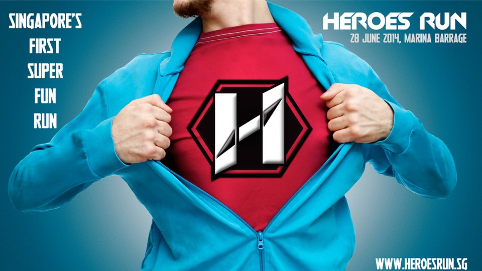 Heroes Run 2014 To Supercharge Singapore In June