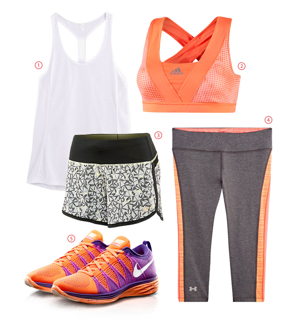 Show Off Your Fashion Fitness: Coral Highlights For A Vibrant Outfit