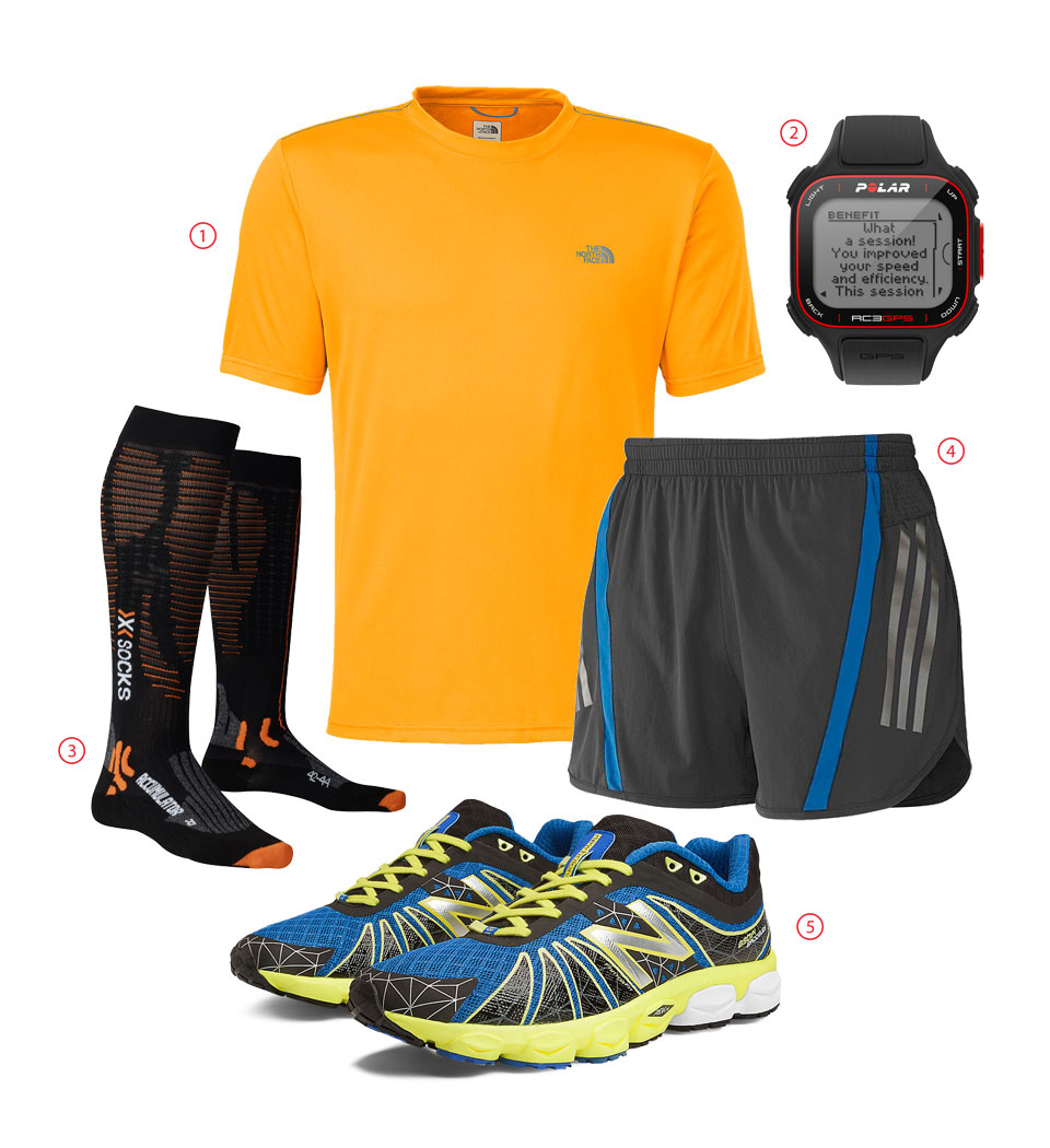 Outfit Of The Week: Dynamic Orange Charges Up Your Runs