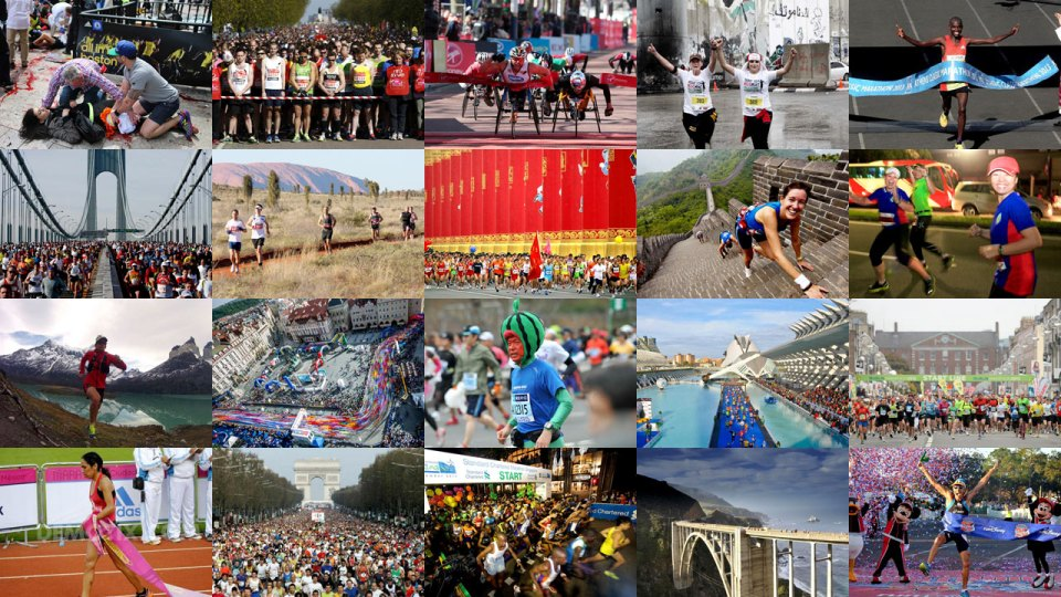 20 Of The Most Powerful Marathon Photos Of 2013