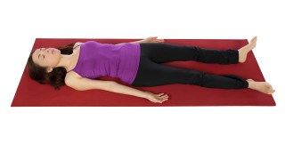Corpse Pose For Rest and Relaxation