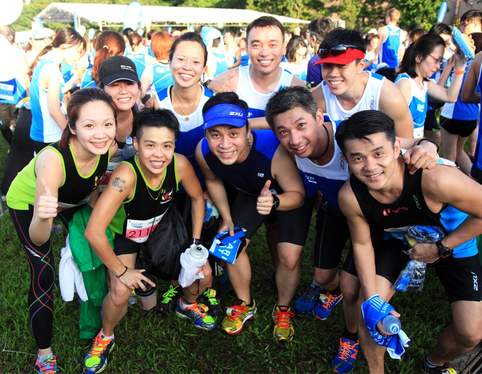 Pocari Sweat Run 2014: Smiles in Blue All Around