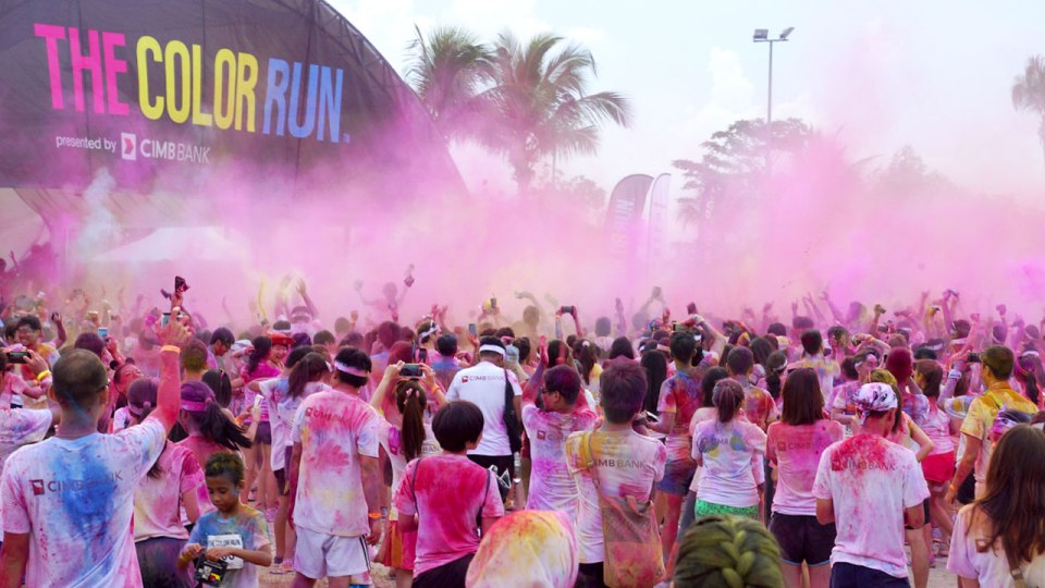The Color Run 2014: Bringing the Global Colour Phenomenon Back to the Lion City