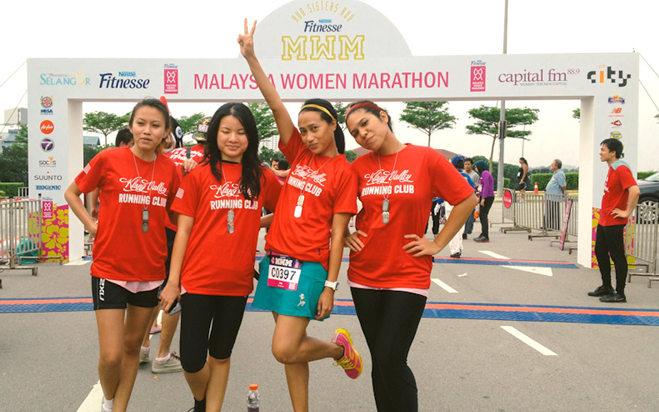 Ena Riduan: She Blazes a Running Trail that's Beautiful and Inspiring!