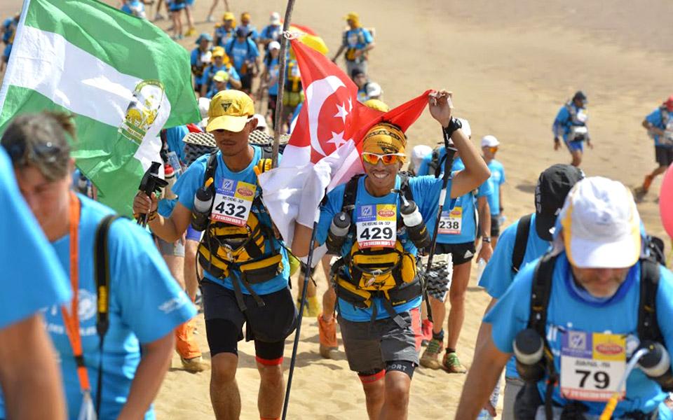 Ian Lye and Chin Wei Chong: Leaving Their Mark on the Saharan Desert for Charity