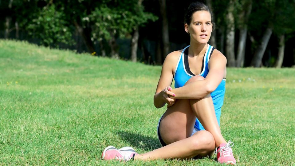 Illiobital Band Stretch Relieves Knee Pain
