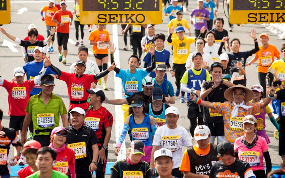Osaka Marathon 2014 is Expanding the Rainbow Circle of Charity in Japan!