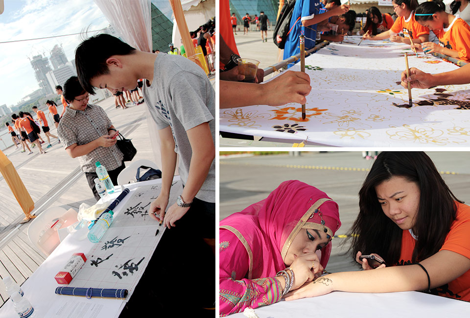 Orange Ribbon Run 2014 Saw Youths Taking the Lead to Pledge Their Support Against Racism!