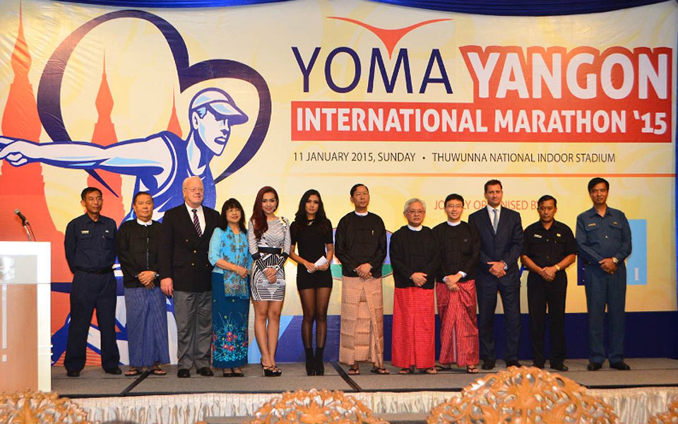 The Yoma Yangon International Marathon is Coming Back to Myanmar in 2015!