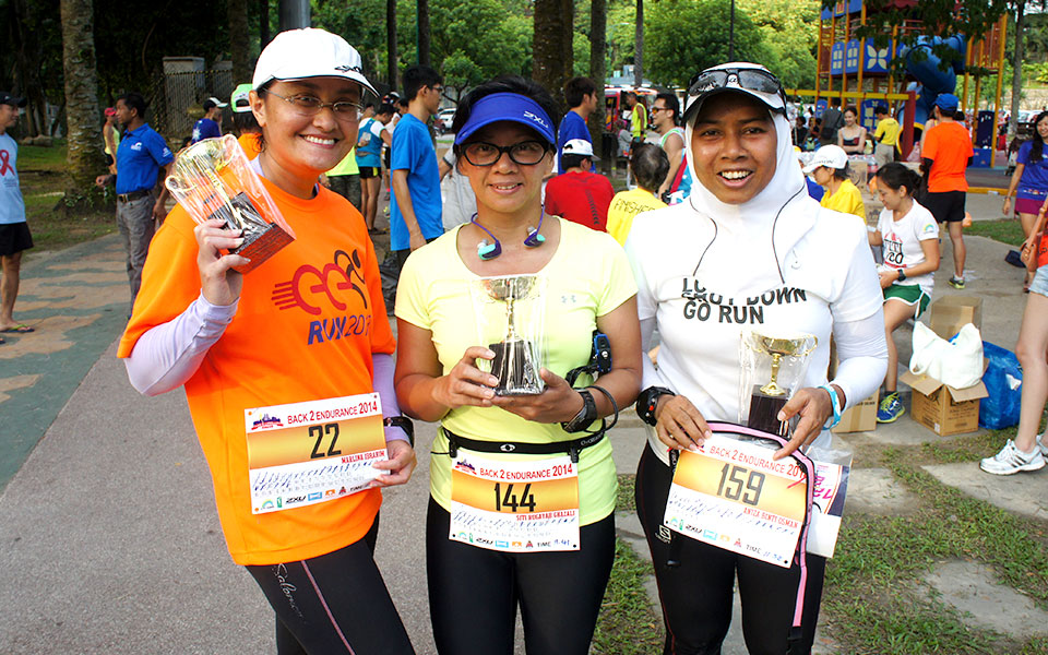 Lina: This Malaysian Running Mum Deserves A Multi-Tasking Medal!