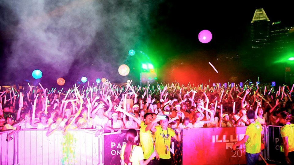 Illumi Run 2014: Illuminate The Night With The Quirky Illumi Run!