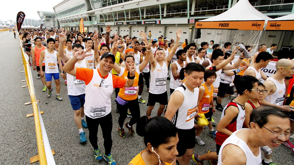 NTUC Income RUN 350 2015 Runs towards Greener Future