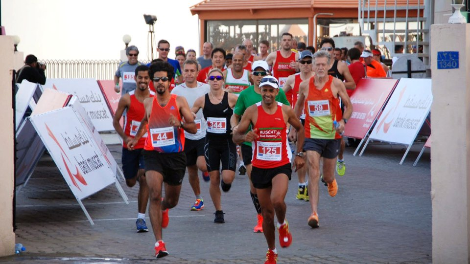 Beauty has an address in Oman at the Muscat Marathon 2015