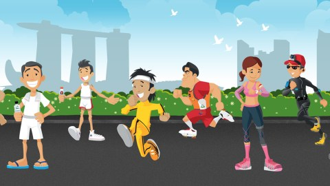 A Fascinating (and Fun) History of Running in Singapore