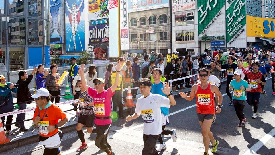 Osaka Marathon 2015: Which Colour Will You Run For?
