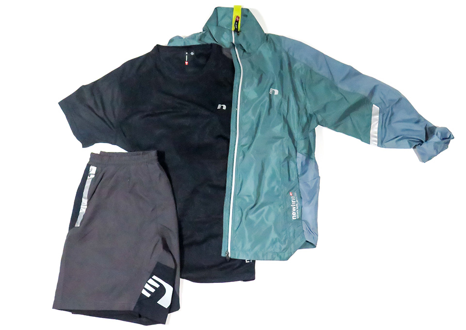 Check out this Trendy, Men's Athletic Apparel Trio from Newline Products