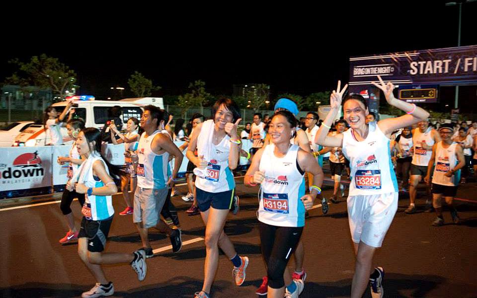 Johor's Biggest Night Run is Back! Educity Sundown Malaysia 2015