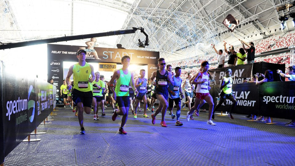 ASICS City Relay Flags Off To a Roaring Crowd at Singapore Sports Hub