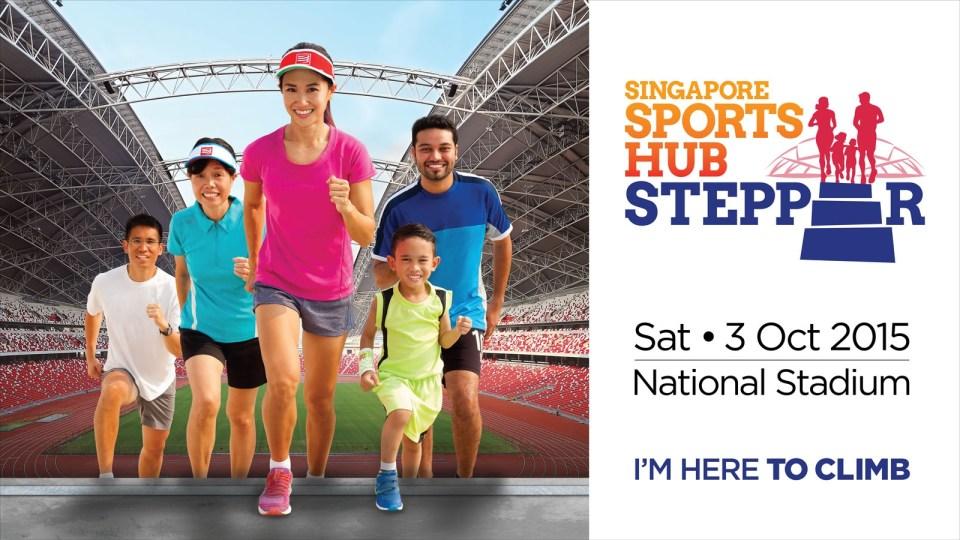 Singapore Sports Hub Stepper 2015