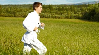 Kung Fu Running? This 21st Century Athletic Pairing Really Kicks Some Butt