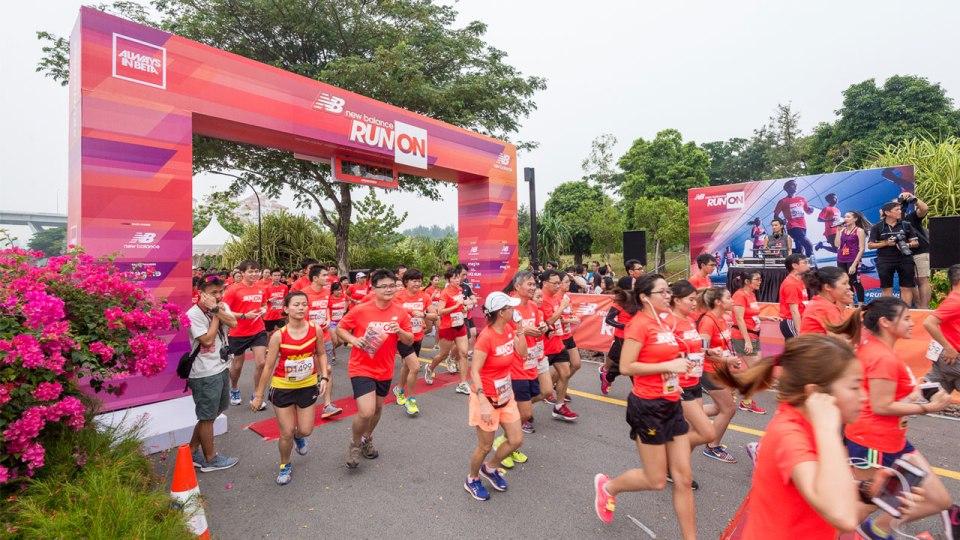 Inaugural New Balance Run On Singapore 2015: More Than 4,000 Strong