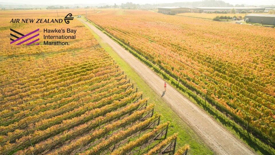 Win a Trip to the Air New Zealand Hawke's Bay International Marathon!