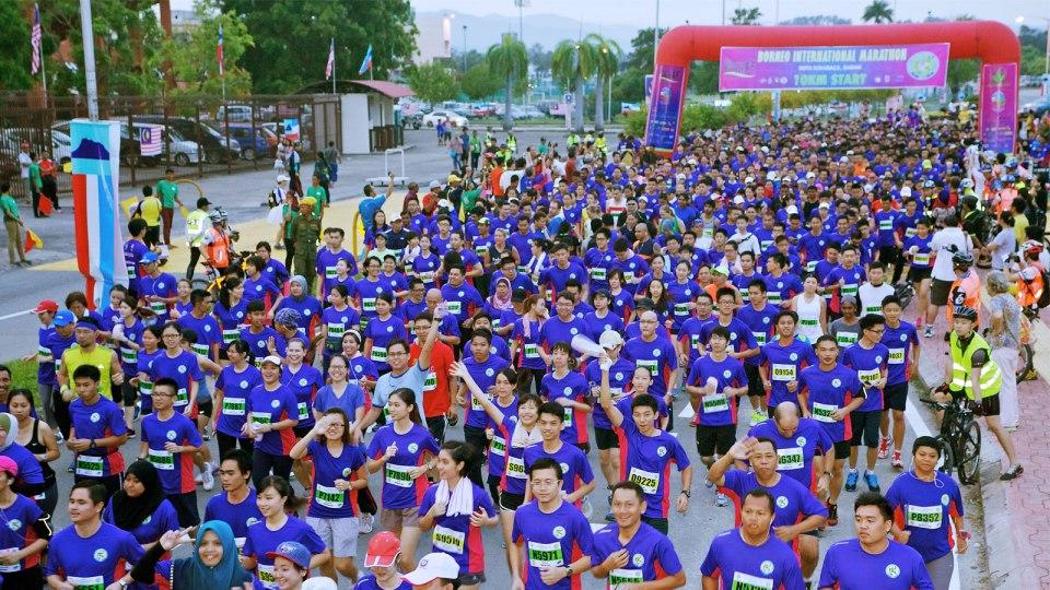 Borneo International Marathon 2016