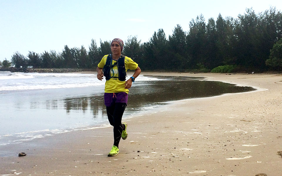 Asia Trail Master Goes To Brunei: Beach Bunch Trail Challenge