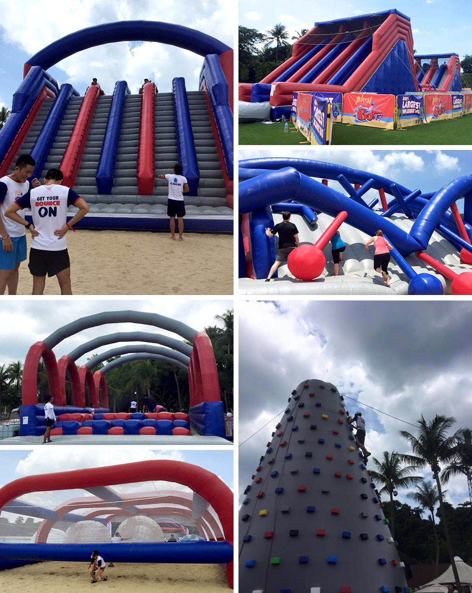 BounceOFF!: Long Awaited Bouncing Obstacles Race in Singapore