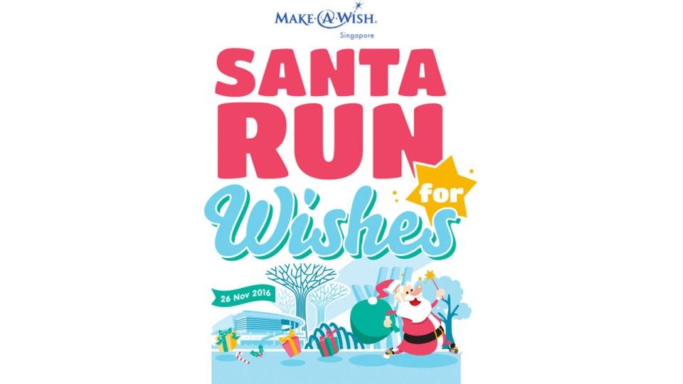 Santa Run For Wishes Singapore