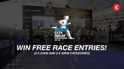 Asics City Relay 2016: Win 4 Slots of Race Entries for Your Team!