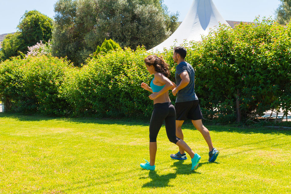 Can Running on Grass Save Your Life?