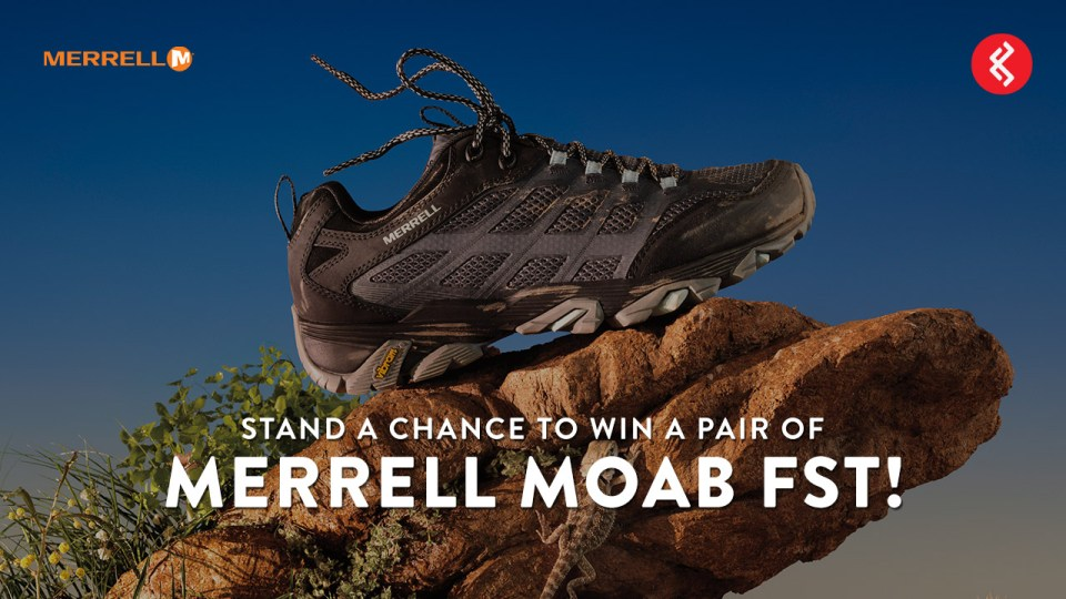 Stand a Chance to Win a Pair of Merrell Moab Fst!