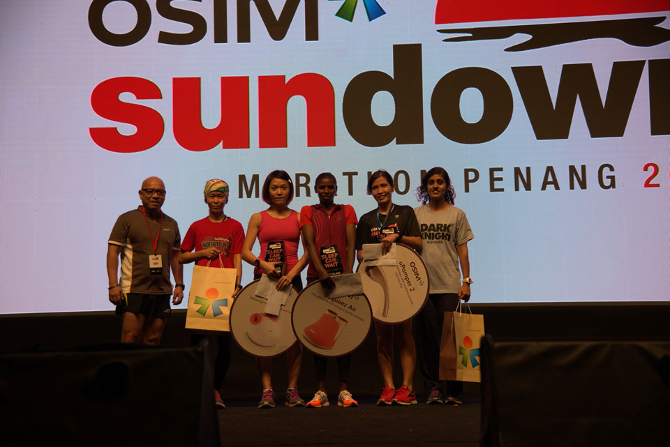 OSIM Sundown Marathon Penang 2016: Sleep Can Wait