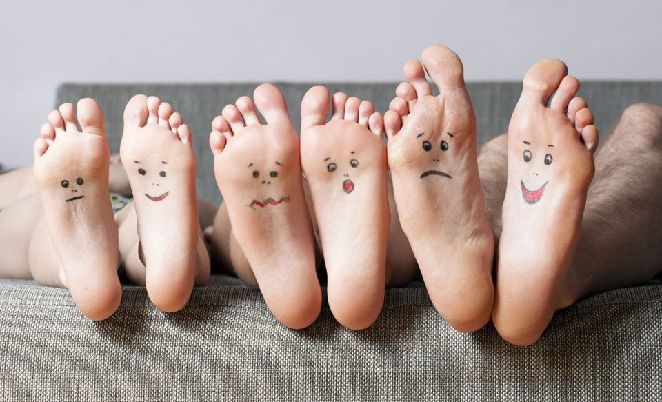 Show Me Your Feet and I'll Tell You Your Future!