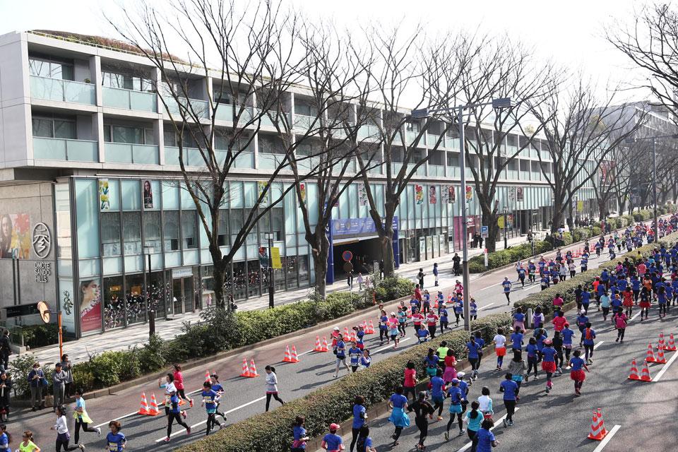 Strut Your Stuff at Tokyo's Fashionable Shibuya-Omotesando Women's Run 2017