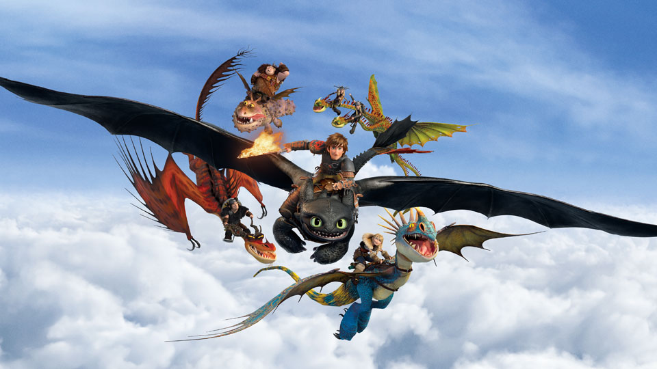 Want to Run with Kung Fu Panda, Shrek, Madagascar Penguins and One Trainable Dragon?