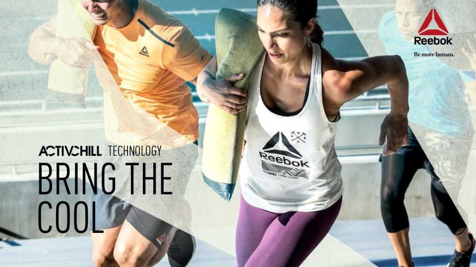 "Reebok ActivChill Gives New Meaning to the Term ""No Sweat""!"