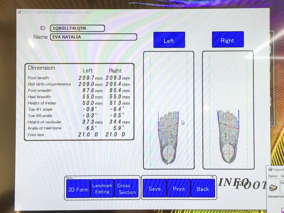 ASICS Enhanced FOOT ID and ASICS fuzeX Rush