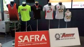 SAFRA Singapore Bay Run & Army Half Marathon (SSBR & AHM) 2017 Medals Designs and Race Entitlements