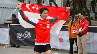SEA Games: Singapore's Soh Rui Yong Wins Men's Marathon Gold Again