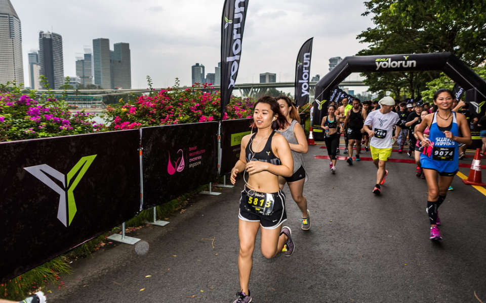 Singapore Women: Ditch Your Shirts at YOLO, Asia's Only Shirtless Race!