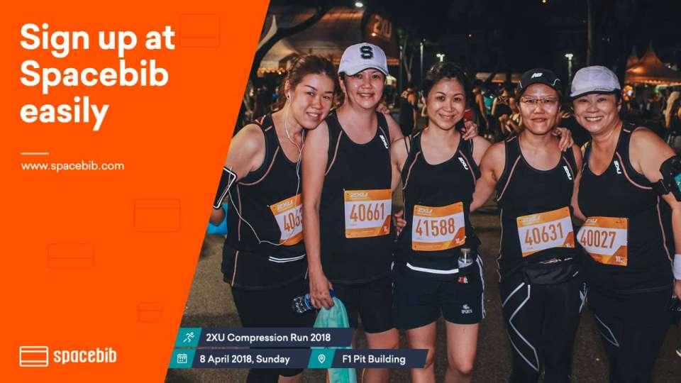 2XU Compression Run Singapore 2018