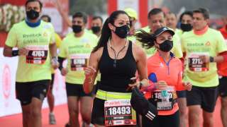 Even Severe Pollution Could Not Stop Runners From Running at the Delhi Half Marathon