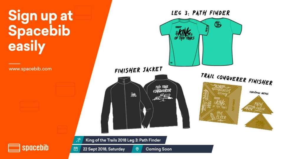 King of the Trails 2018 Leg 3: Path Finder